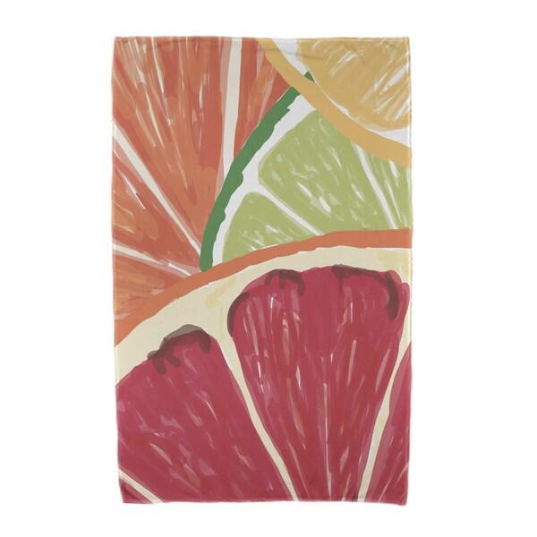 Lemonade, Geometric Print Beach Towels