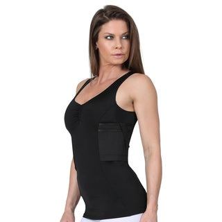 IS Pro Tactical Compression Concealment Hi-Back Tank Top