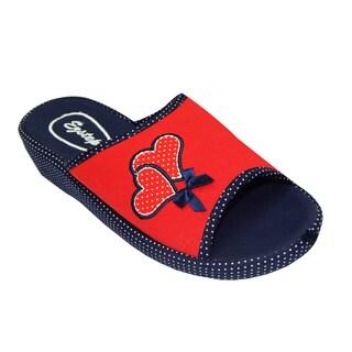 Vecceli Women Casual Wedge Slippers