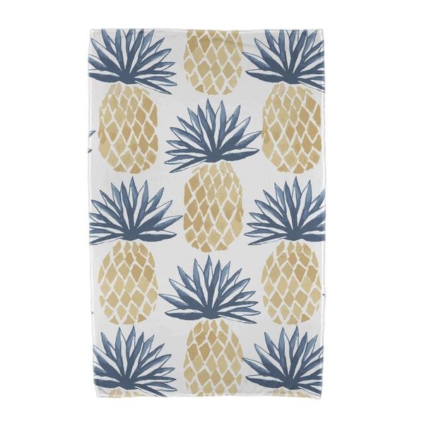 Pineapple Stripes Geometric Print Beach Towels