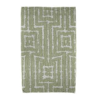 Woven Tiki Geometric Print Beach Towels