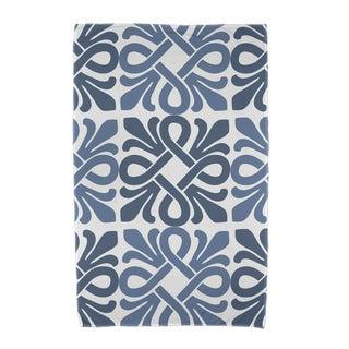 Tiki Square, Geometric Print Beach Towels