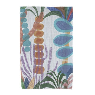Tropical Jungle Floral Print Beach Towels