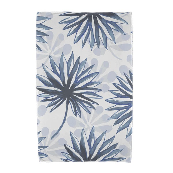 Spike and Stamp Floral Print Beach Towels