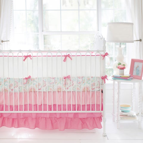 My Baby Sam Ombre Coral Ruffled Nursery Skirt