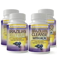 Brazilian Belly Burn and Cleanse Combo with Fat Fighting Acai (60 Capsules)