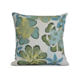 Ani Flower Print Pillow