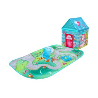 Fun2Give Pop-it-up Enchanted Forest Combo Set Play Box with Play Mat  & Coloring Set