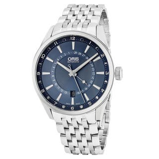 Oris Men's 761 7691 4085 MB 'Artix Tycho Brahe' Blue Dial Stainless Steel Limited Edition Swiss Automatic Watch|https://ak1.ostkcdn.com/images/products/15630762/P22062626.jpg?impolicy=medium