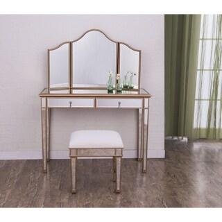 Elegant Lighting Contempo Two Drawer Dressing Table