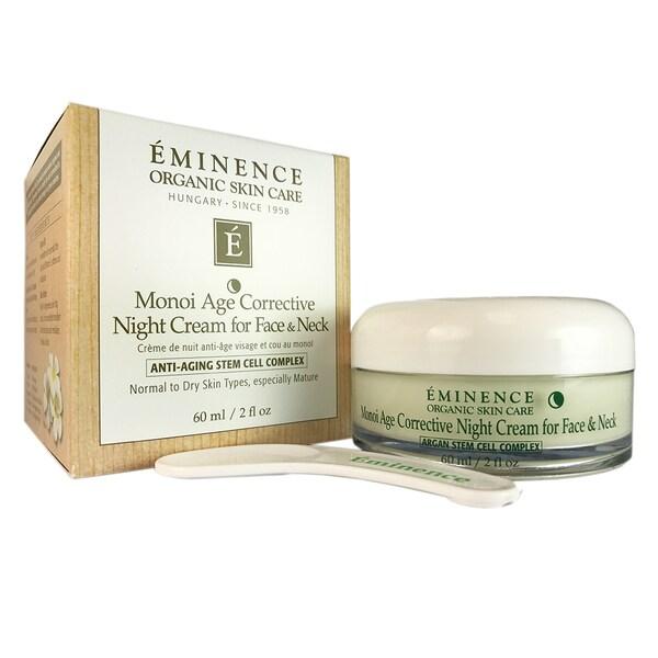Shop Eminence Monoi Age Corrective 2-ounce Night Cream for Face & Neck -  Free Shipping Today - Overstock - 15630833