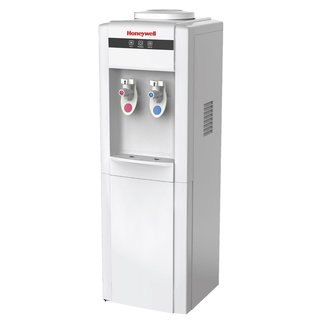 Honeywell HWB1052W Cabinet Freestanding Hot and Cold Water Dispenser with Stainless Steel Tank, White