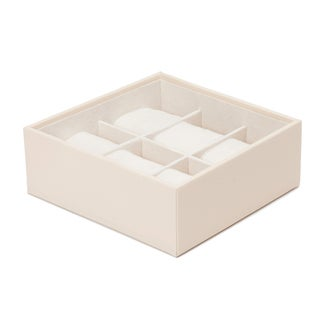 WOLF Stackable 6 Piece Standard Watch Tray