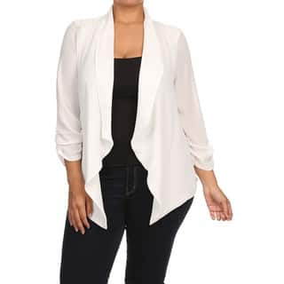 Women's Plus Size Solid Cardigan|https://ak1.ostkcdn.com/images/products/15630889/P22062715.jpg?impolicy=medium