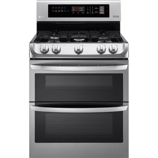 LG LDG4311ST 30 Inch Double Oven Gas Range - STAINLESS STEEL