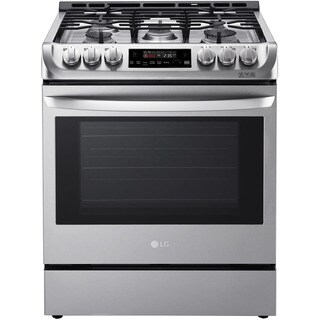 LG LSG4511ST 30 Inch Gas Slide-In Range - stainless steel