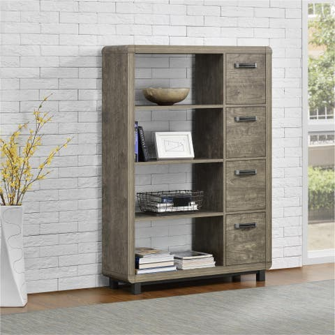 Ameriwood Home Eastlin Bookcase with Bins