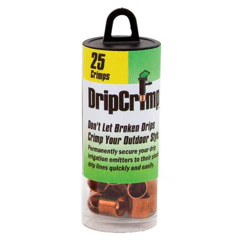 Handmade DripCrimp Copper Rings Refill, Pack of 25 (Mexico)