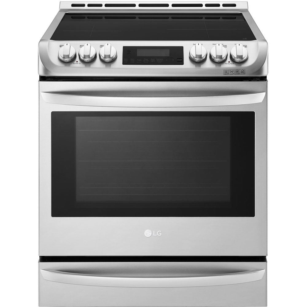 LG LSE4617ST 30 Inch Slide-In Induction Range (Stainless ...
