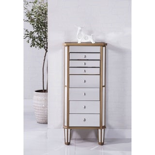 Elegant Lighting Contempo 7 Drawer Jewelry Armoire