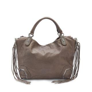 Liebeskind Berlin KobeF7 Dvacch Leather Geometric Fringe Handbag