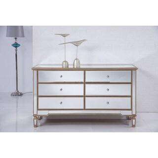Elegant Lighting Contempo Six Drawer Dresser