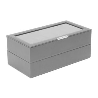 Stackable Set of 2 - 12 Piece Watch Trays