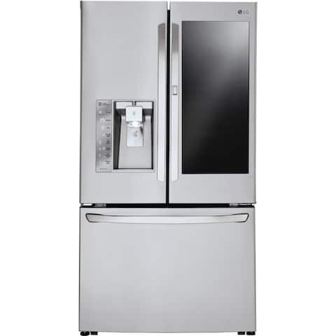 LG LFXC24796S 36 Inch Counter Depth French Door Refrigerator - STAINLESS STEEL