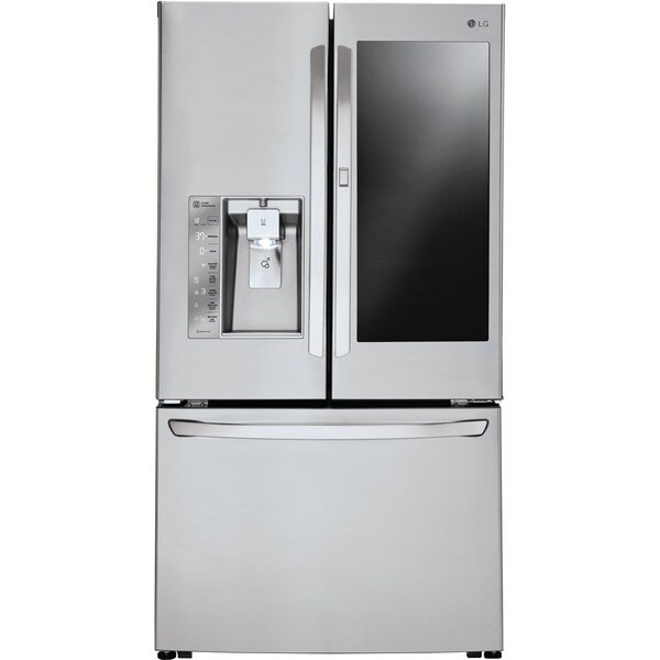 LG LFXC24796S 36 Inch Counter Depth French Door Refrigerator - STAINLESS STEEL
