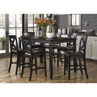 Thornton II Black and Brown 7-Piece Gathering Set
