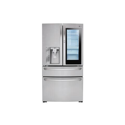 LG LMXS30796S 30 cu. ft. InstaView Door-in-Door® Refrigerator in Stainless Steel