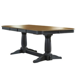 Springfield II Honey and Black Butterfly Leaf Dinette Table