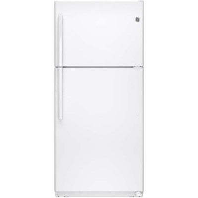 """GE GTE18ETHWW 30"""" 18.2 cu. ft. Energy Star Qualified and ..."""