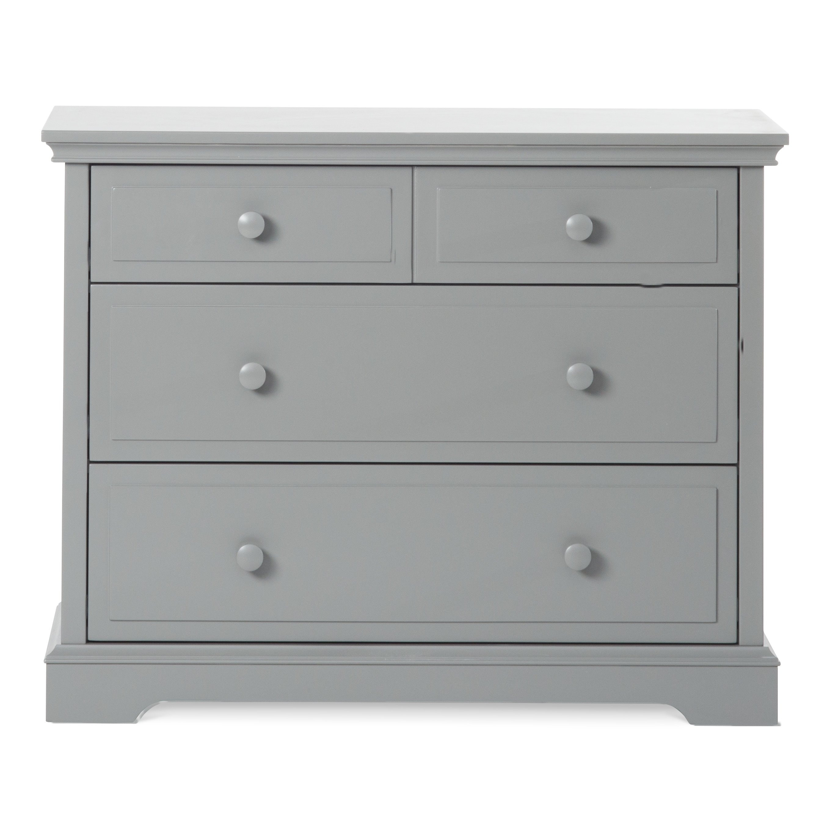 Child Craft Universal Select Dresser, Cool Grey (Gray)