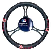 MLB 605 Red Sox Car Steering Wheel Cover