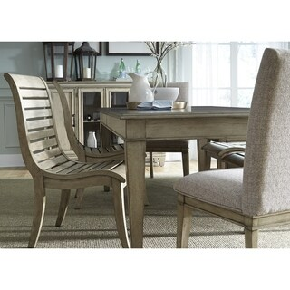 Grayton Grove Driftwood Contemporary Dinette Table - Brown