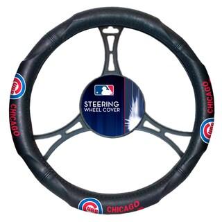 MLB 605 Cubs Car Steering Wheel Cover