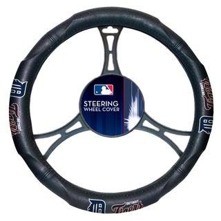 MLB 605 Tigers Car Steering Wheel Cover