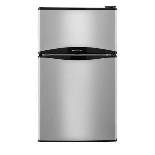 """Frigidaire FFPS3122QM 19"""" Compact Refrigerator, Silver"""