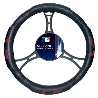 MLB 605 Cardinals Car Steering Wheel Cover