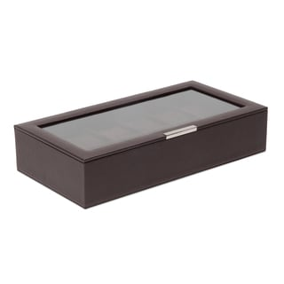 Stackable 12 Piece Watch Tray with Lid