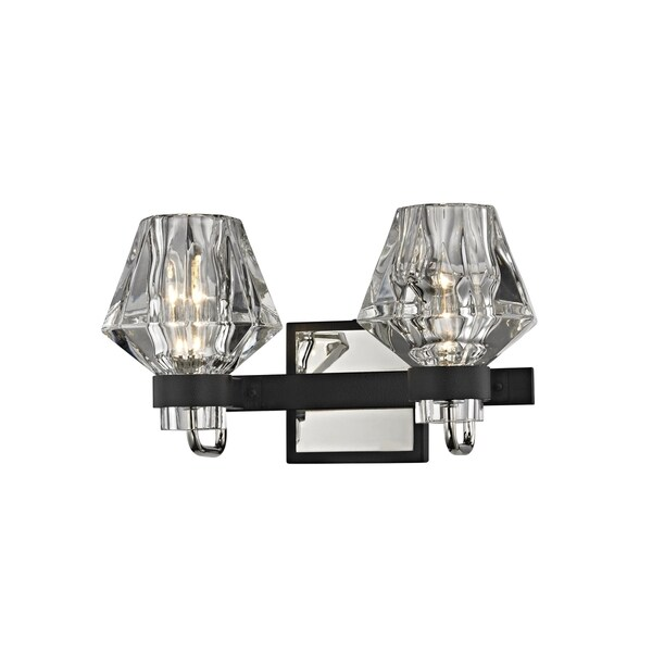 Shop Troy Lighting Faction Light Forged IronPolished Nickel Bath - Polished nickel bathroom wall sconces