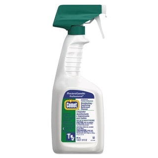 Comet Disinfectant Bath Cleaner 32-ounce Trigger Bottle (Set of 8)