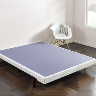 priage 4inch smart box spring mattress foundation