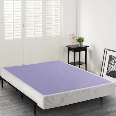 Priage by Zinus 8 inch Wood and Steel Box Spring Mattress Foundation