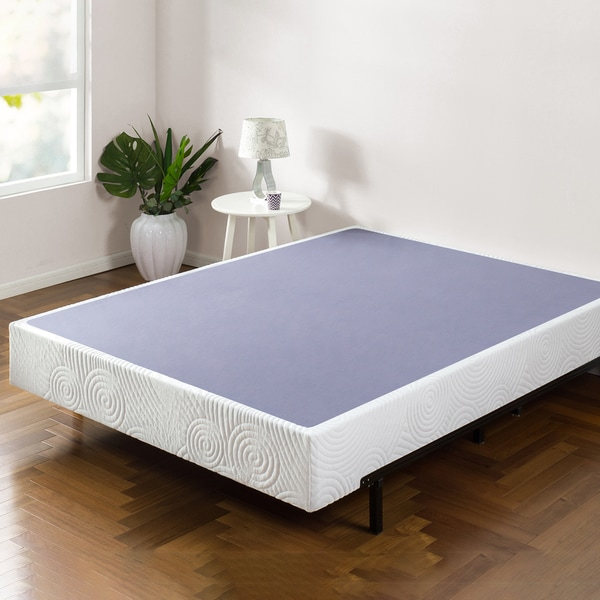 Priage 9 Inch Smart Box Spring Mattress Foundation Free