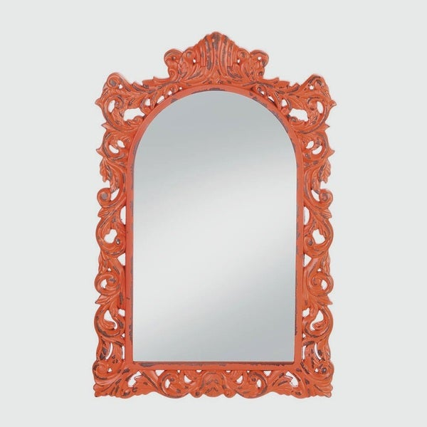 Berkley Antique-Style Tangerine Mirror