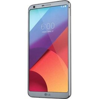 """LG G6 US997 32 GB Smartphone - Platinum - 5.7"""" LCD 2880 x 1440 QHD+ T"""
