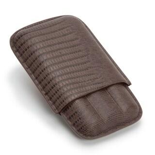 WOLF Blake 3 Piece Cigar Case