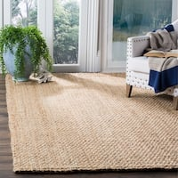 Safavieh Natural Fiber Coastal Hand-Woven Natural Jute Area Rug - 6' x 9'